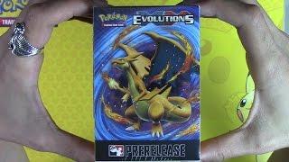 xy evolutions prerelease kit opening pokemon tcg unboxing