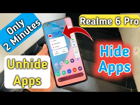 Realme 6 Pro Hide & Unhide Apps , How to Hide Apps in Realme 6 Pro