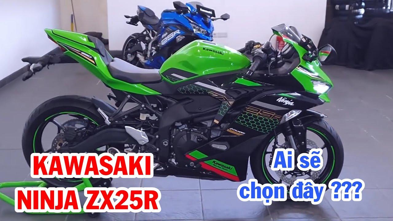 Kawasaki ZX25R, sắp lên kệ bán chính thức, tin vui cho nhiều Biker trẻ