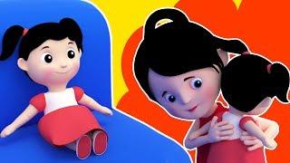 мисс Полли долли | Детская музыка | Детские стихи | Preschool Rhymes | Miss Polly Had A Dolly Song