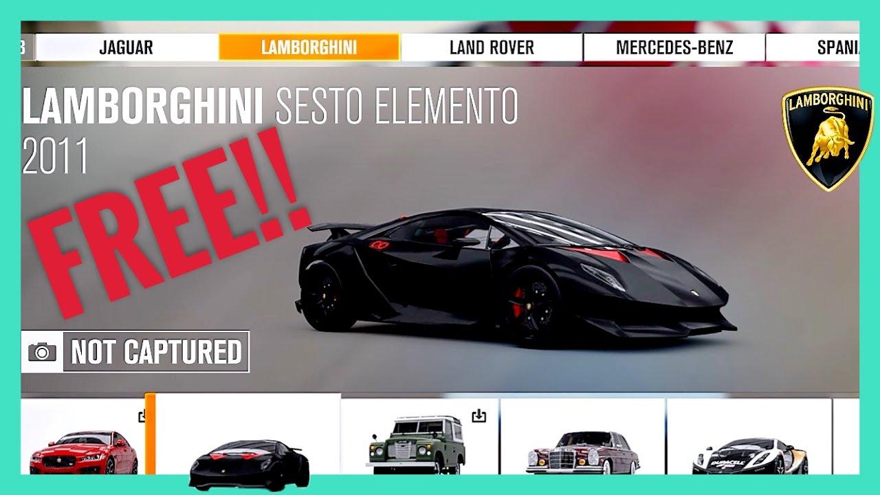 Get Free Cars Forza Horizon
