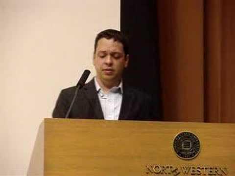 Markos Moulitsas, Northwestern University - Question 1