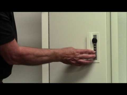 CVII Lock Instructions, Closet Vault, In Wall Safe, Quick Access Wall Safe    YouTube