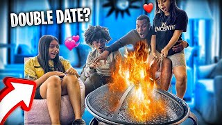 TYLER AND GISSELLE HAD A ROMANTIC BOMB FIRE DATE 😍 BUT SOMETHING WENT WRONG SMH💔