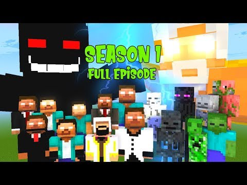 MINECRAFT THE MOVIE HEROBRINE BROTHERS AND THE DARK LORD   MONSTER SCHOOL