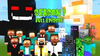 Monster School Special | SEASON 1 FULL EPISODE HEROBRINE BROTHERS | Best Minecraft Animation