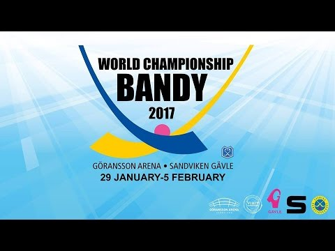 World Championship Bandy 2017 (Sweden - Kazakhstan) - YouTube