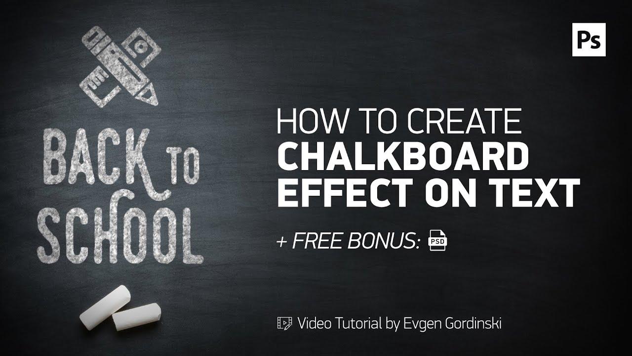 free chalk font