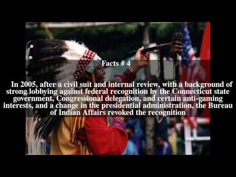 Eastern Pequot Tribal Nation Top # 6 Facts