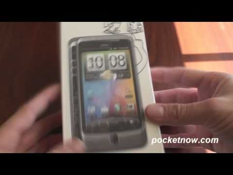 HTC Desire Z with AT&T 3G Unboxing   Pocketnow