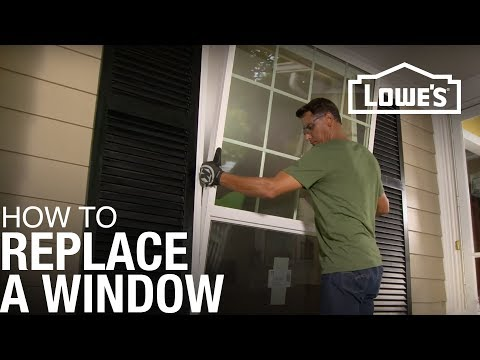 How To Replace A Window You