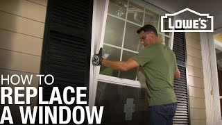 How To Replace a Window