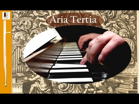 J.Pachelbel: Aria Tertia- Hexachordum Apollinis (1699) - Wim Winters Clavichord
