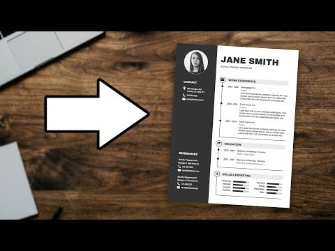 How To Customize A Resume Template [EASY RESUME TUTORIAL]