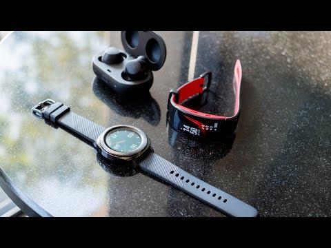 Video review trên tay bộ đôi Samsung Gear Sport và Fit 2 Pro cực đẹp