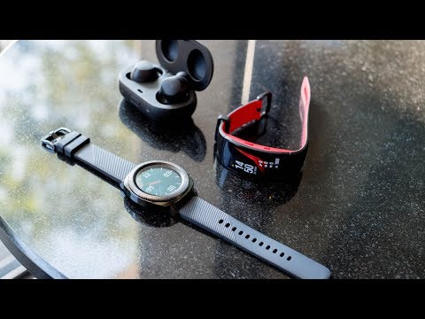 Samsung's Gear Sport mixes classical design cues with modern fitness tracking