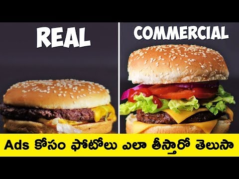 Photo manipulation for food advertising || T Talks