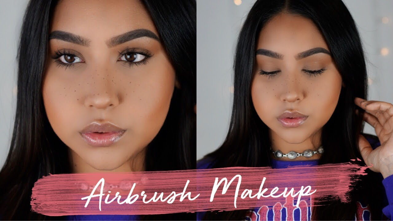 Luminess Air Airbrush Makeup Review Demo Youtube