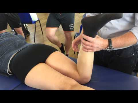 How to test the MCL, Meniscus and hamstrings in a prone position