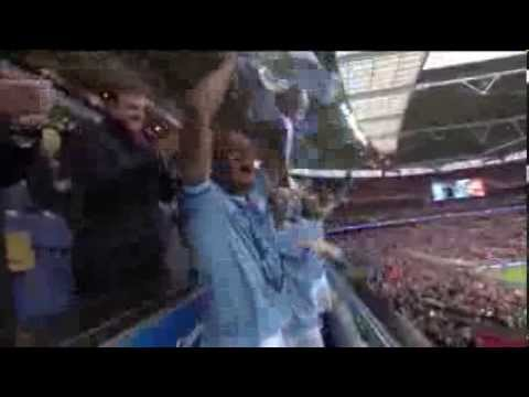 Manchester City versus Sunderland Capital One League Cup final 2014 epic musical highlights montage
