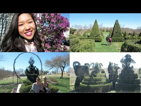 WHERE WE WALK | (With Mom & Dad) at Ladew Topiary Gardens