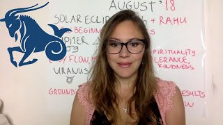 Video CAPRICORN August 2018 Horoscope. ECLIPSE Brings SUDDEN CHANGES which BENEFIT You Later! download MP3, 3GP, MP4, WEBM, AVI, FLV Agustus 2018