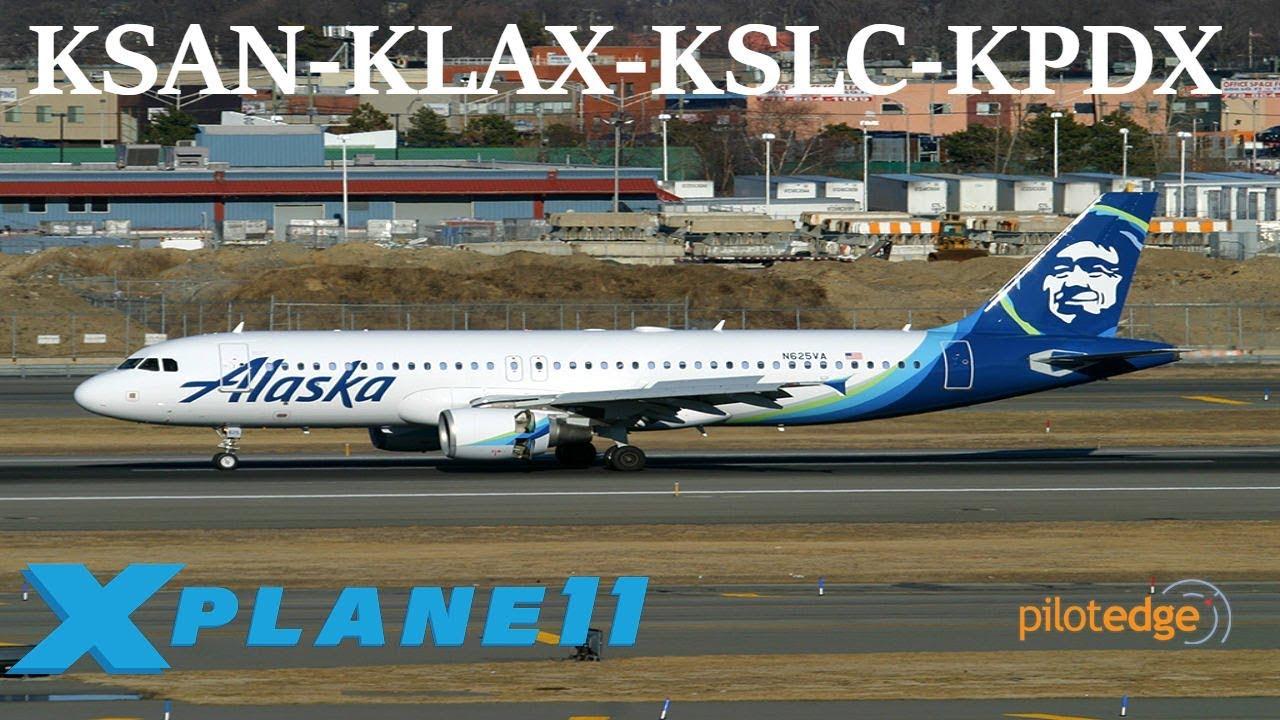 X-Plane 11 | FFA320 BSS Sound pack debut!!! | KSAN-KLAS-KSLC