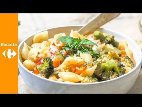 soupe-italienne-épaisse-et-pain-à-l'ail
