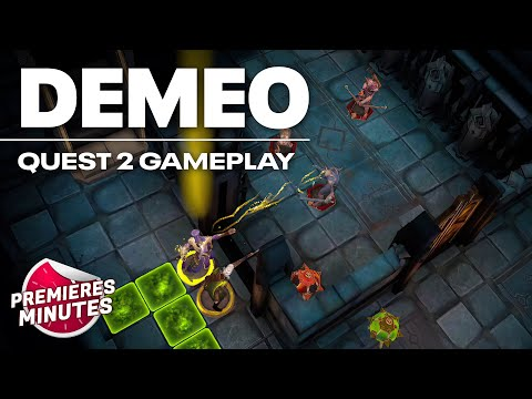 Demeo - Gameplay Oculus Quest | Quest 2