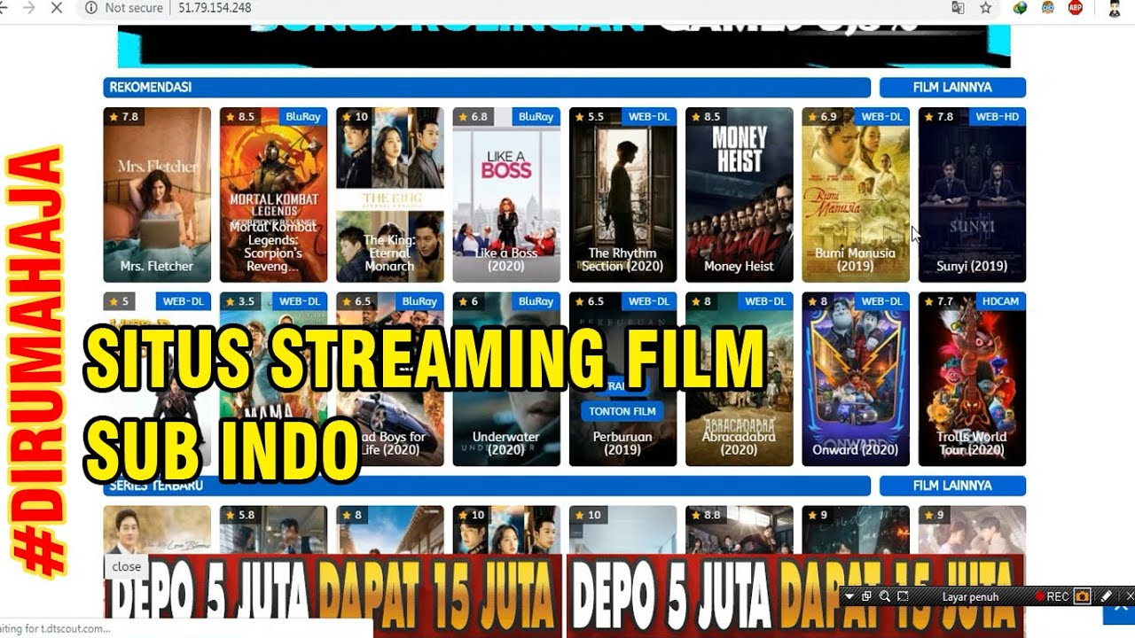 4 SITUS STREAMING FILM SUB INDO TERBARU 2020 - YouTube