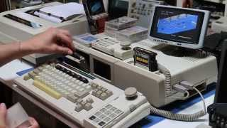 Adam ColecoVision (Daisy-wheel Printer Test / Tape Loading / Game Cartridge)