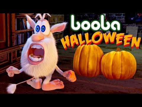 Booba - Halloween - Compilation №9 - funniest cartoon video - Moolt Kids Toons
