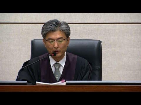Verdict under way in corruption trial of S. Korea's ex-president