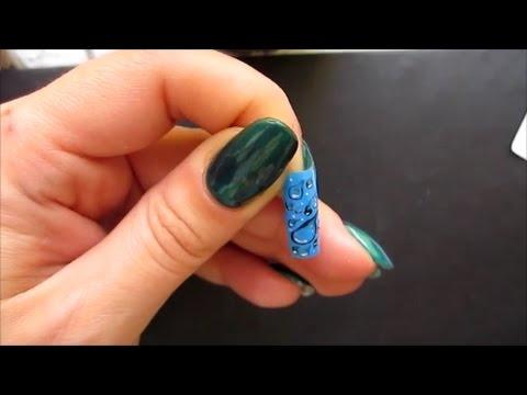 наклейки на ногтях фото ромашки