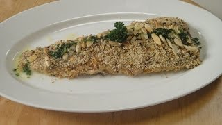 Almond Crusted Fish With Lemon Butter Sauce | Sanjeev Kapoor Khazana