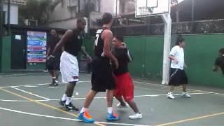 JUGANDO CON EL NBA GREIVIS VASQUEZ (CHACAO, CARACAS, VENEZUELA)