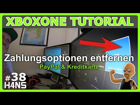 Zahlungsoptionen entfernen XBOX ONE Tutorial NXOE #38