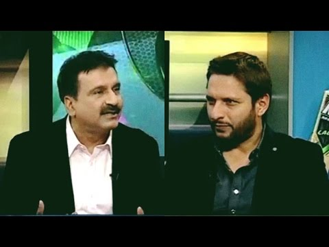 Shahid Afridi Interview with Mirza Iqbal Baig | Sports Page - Express News