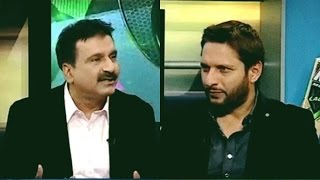 Shahid Afridi Interview with Mirza Iqbal Baig   Sports Page - Express News