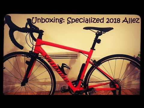 4150dbfa2b1 Unboxing: Specialized 2018 Allez - YouTube