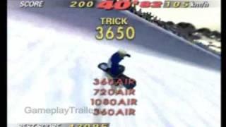 N64: 1080 Snowboarding - Trick Attack, Half-Pipe, High Score