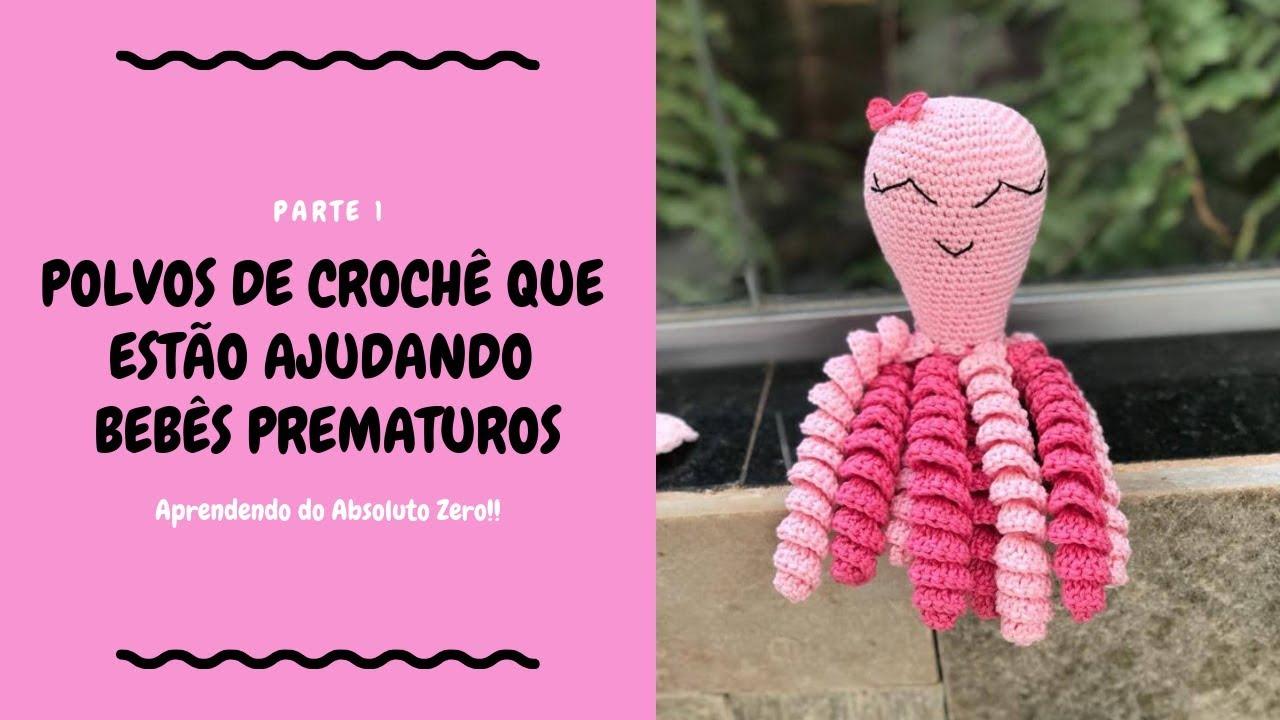 Polvo Alfredo – Amigurumi em crochê – Bonek de Crochê   720x1280