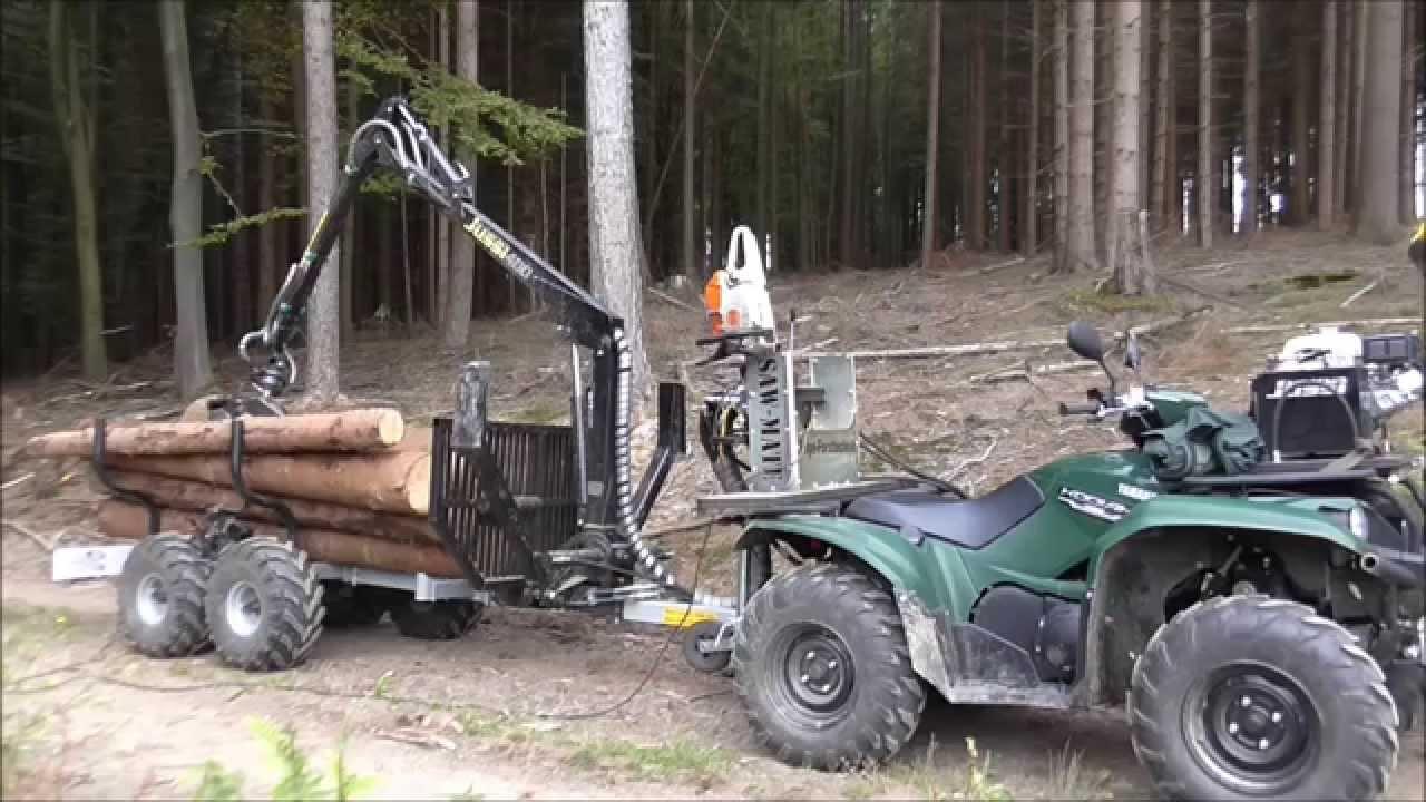 Vahva Jussi Mini-r U00fcckewagen Mit Yamaha Kodiak 700 Eps