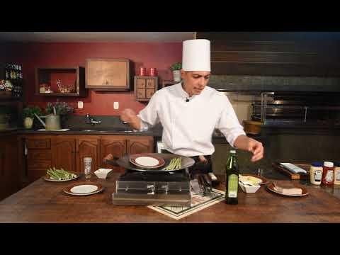 Receitas Gourmet - Badejo com Crosta de Tapenate de Azeitonas e Batatas Patagônia