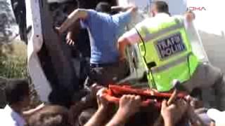 Konya - Karapınar'da Kaza- 2 Yaralı
