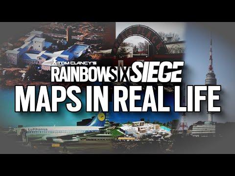 RAINBOW SIX SIEGE - Maps In Real Life