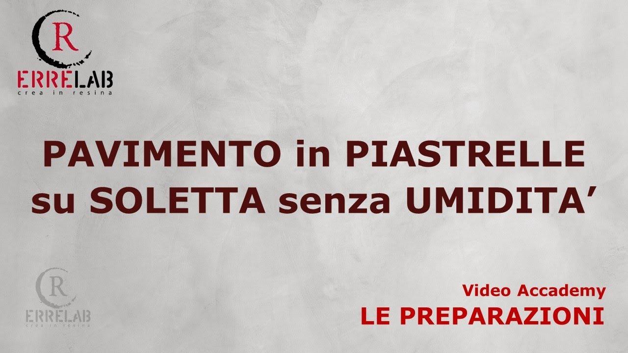 Pavimenti In Vinile Pregi E Difetti : Errelab resina per pavimenti piastrelle su soletta youtube