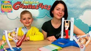 Настольная Игра: [Фантастик Гимнастик]! Пробуем детскую еду. // Fantastic Gymnastics Game Unboxing