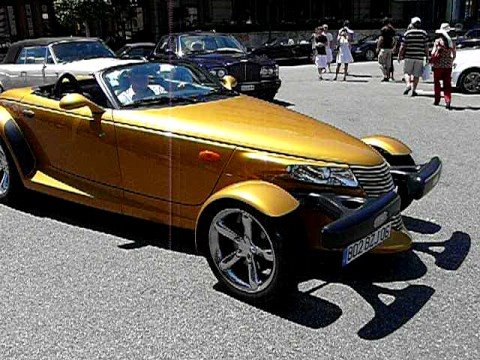 Supercar at Casino Monaco Plymouth Prowler