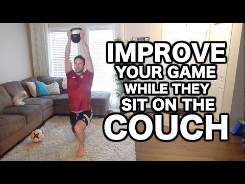 Train Like A Pro Footballer AT HOME | Individual soccer training at home